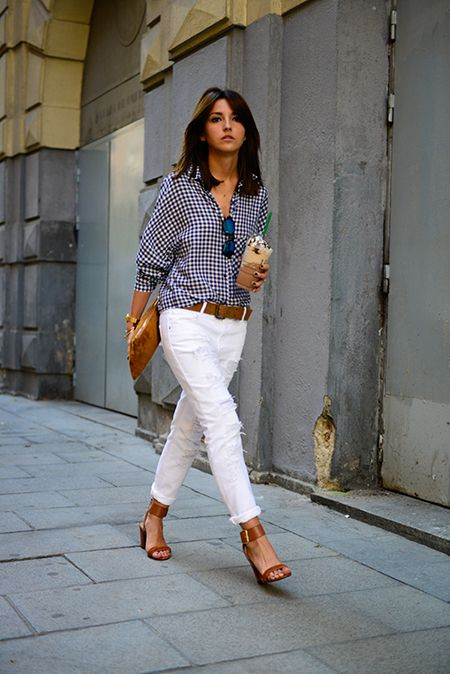 gingham-shirt-white-jeans-sandals-spring-weekend-via-laurenconrad.com_